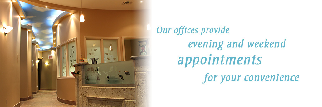 Our office provide appointments for your convenience